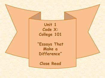 Essay Writing Lesson Plans 8th Grade